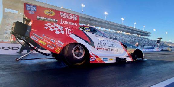 Tommy Johnson Jr. ready to race