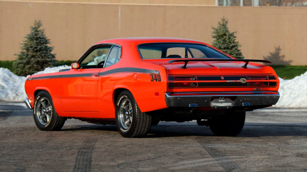 1971 Plymouth Duster Restomod