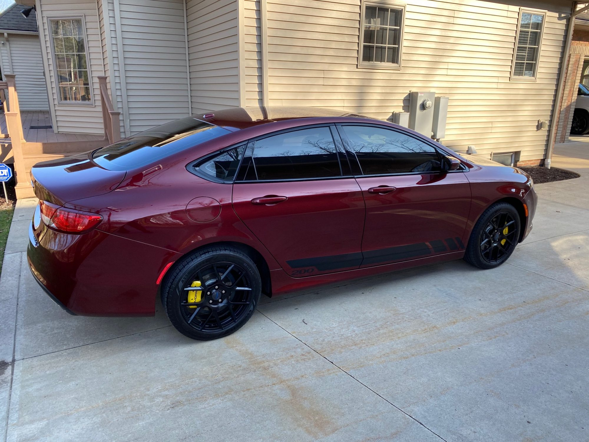 2015 Chrysler 200S AWD loaded with mods