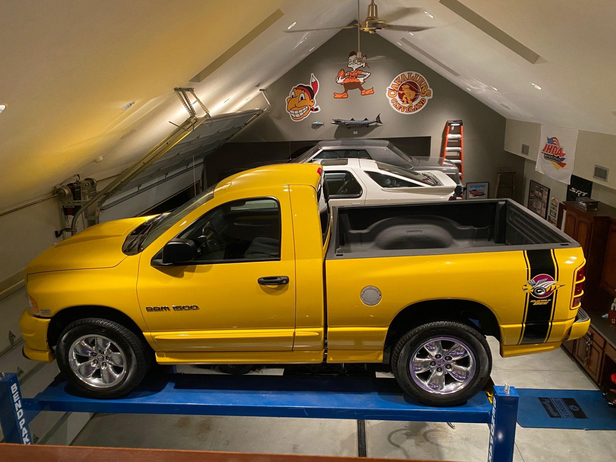 2004 Dodge Ram Rumble Bee in Solar Yellow