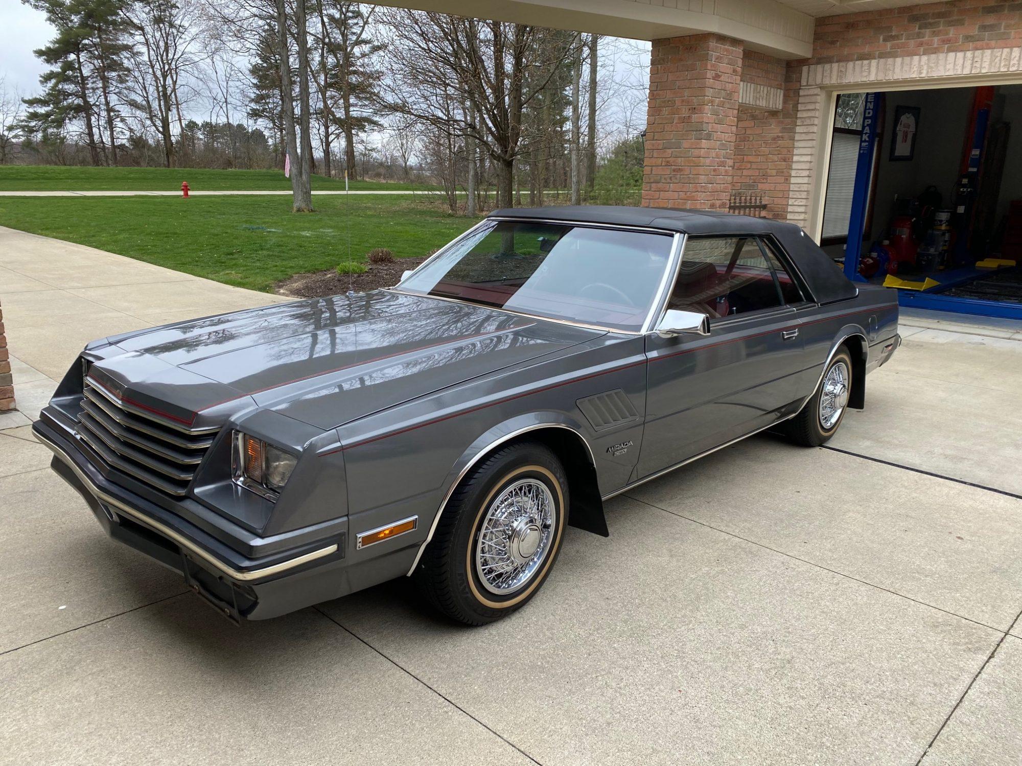Gray 1982 Dodge Mirada CMX