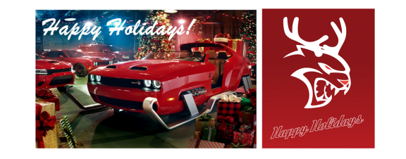 dodge christmas card
