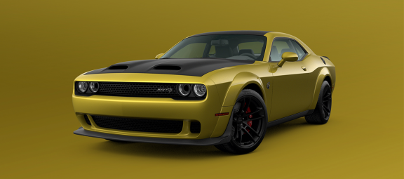 Going for Gold: Gold Rush Is Back on Select 2021 Dodge Challenger Models