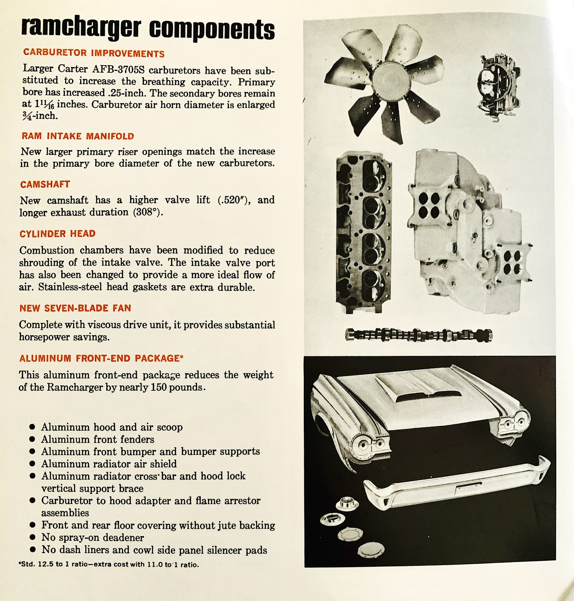 Ramcharger components manual
