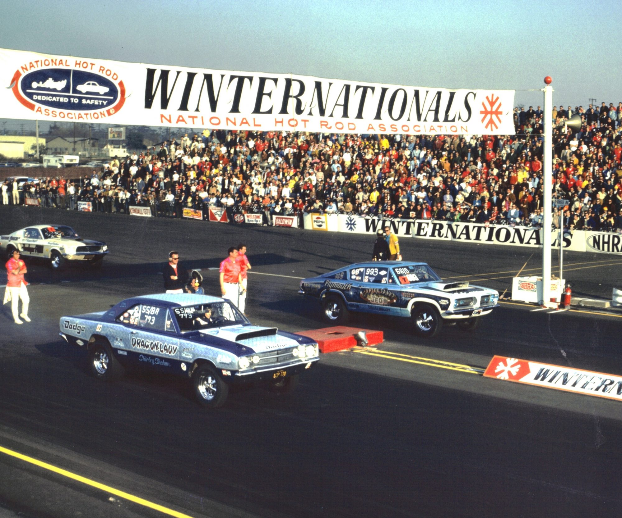 Factory Stock race at Winternationals