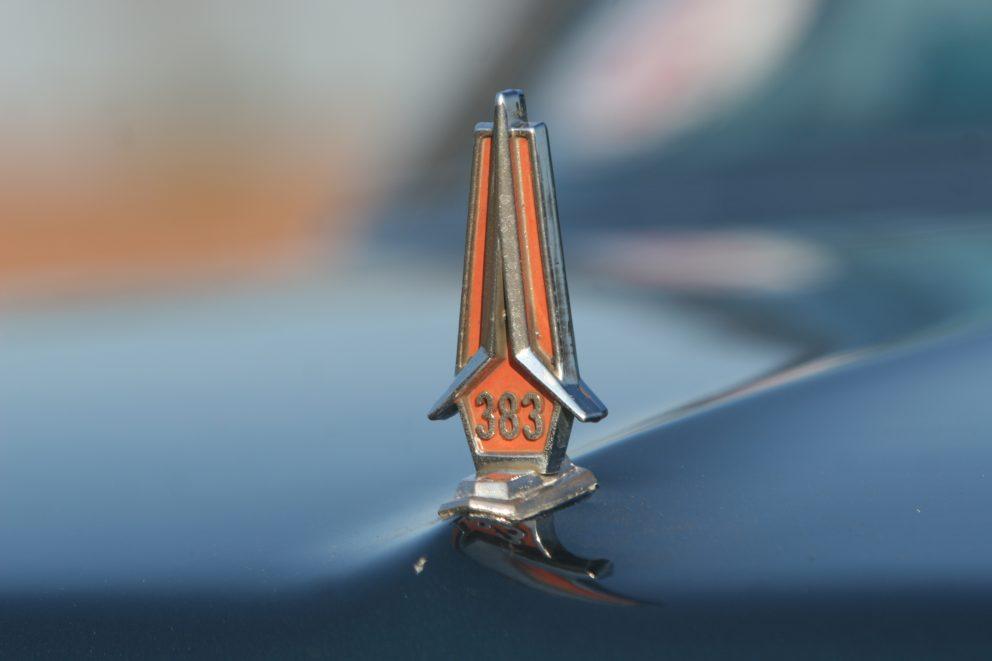 1967 Plymouth Satellite hood ornament