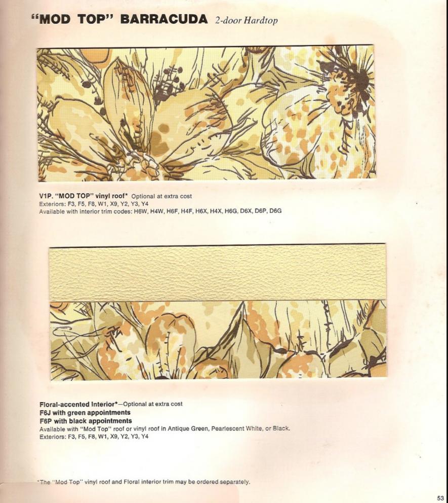 Millenial Mopar Owner - Brochure excerpt
