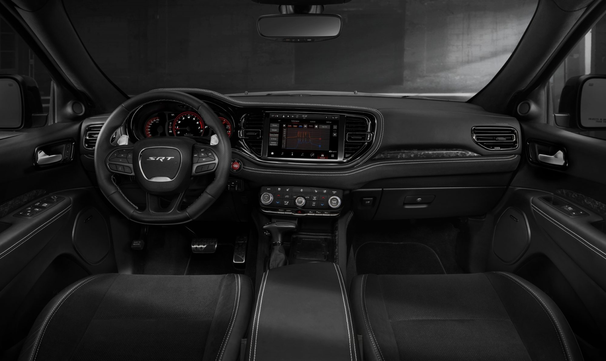 2021 Dodge Durango SRT Hellcat interior