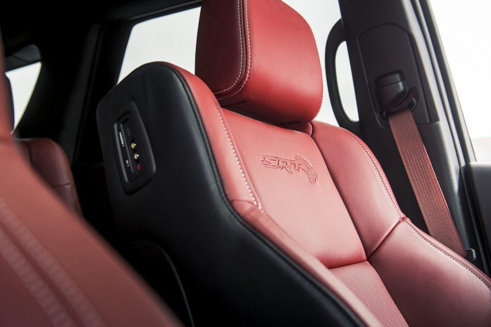 2021 Dodge Durango SRT Hellcat Demonic Red interior