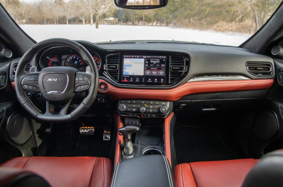 interior of 2021 Dodge Durango SRT 392