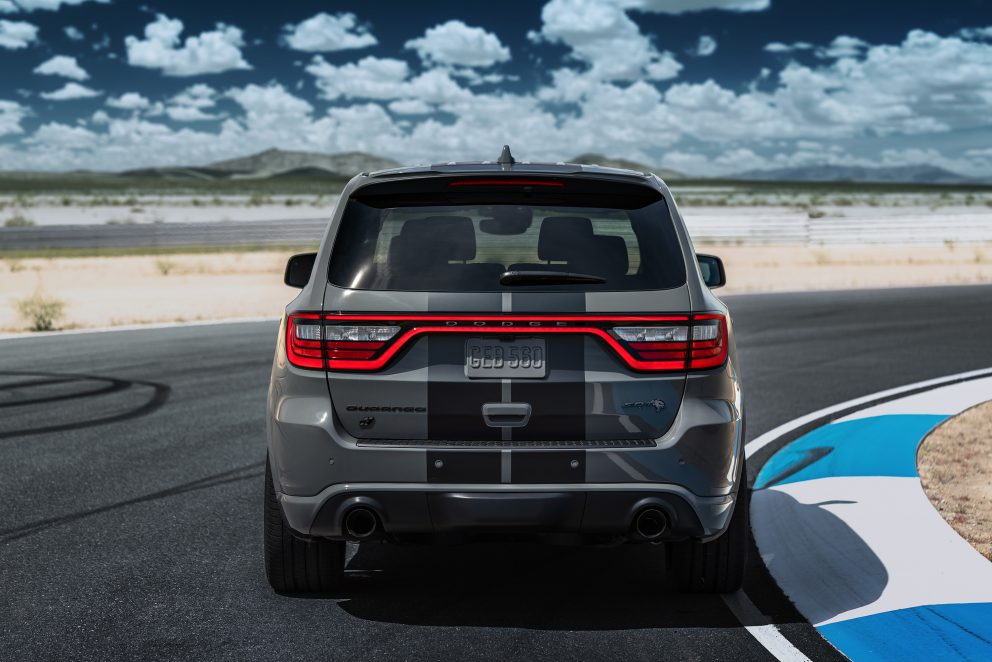 Dodge Durango SRT Hellcat: The exhaust system
