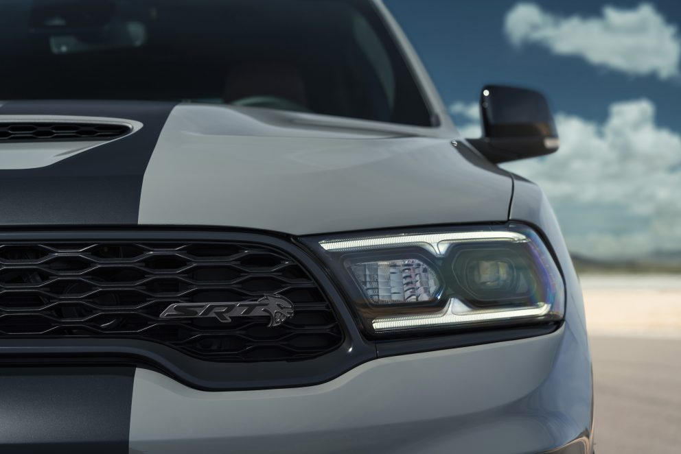 Dodge Durango SRT Hellcat: The new LED headlamps