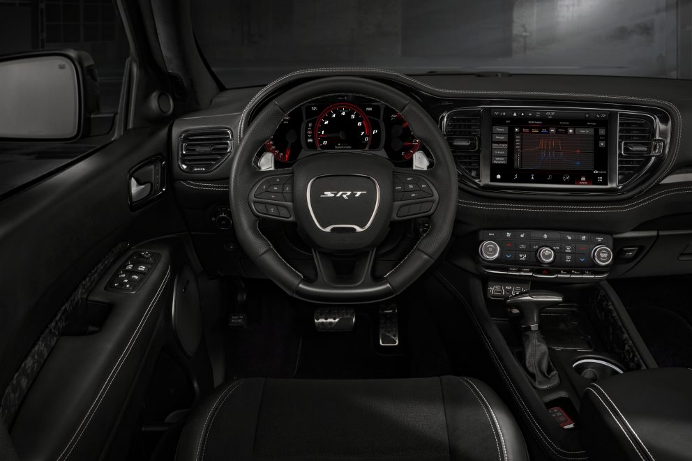 2021 Dodge Durango SRT Hellcat: The new interior