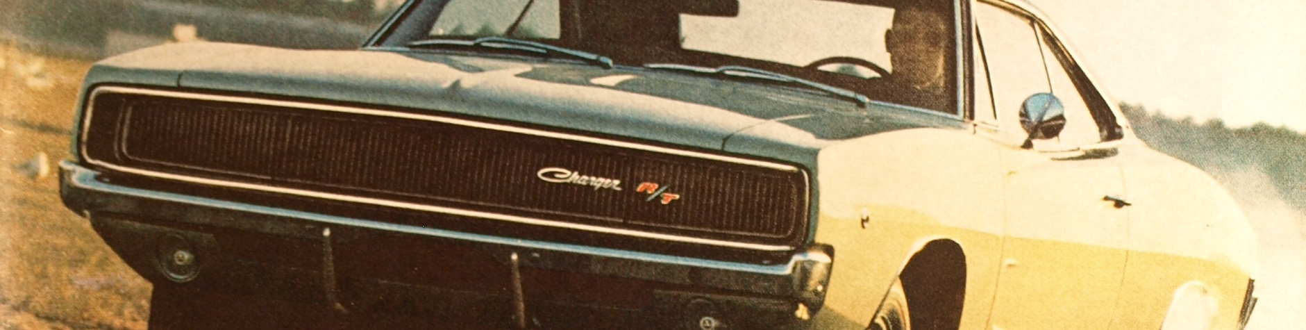 Front grille of the 1968 Charger R/T