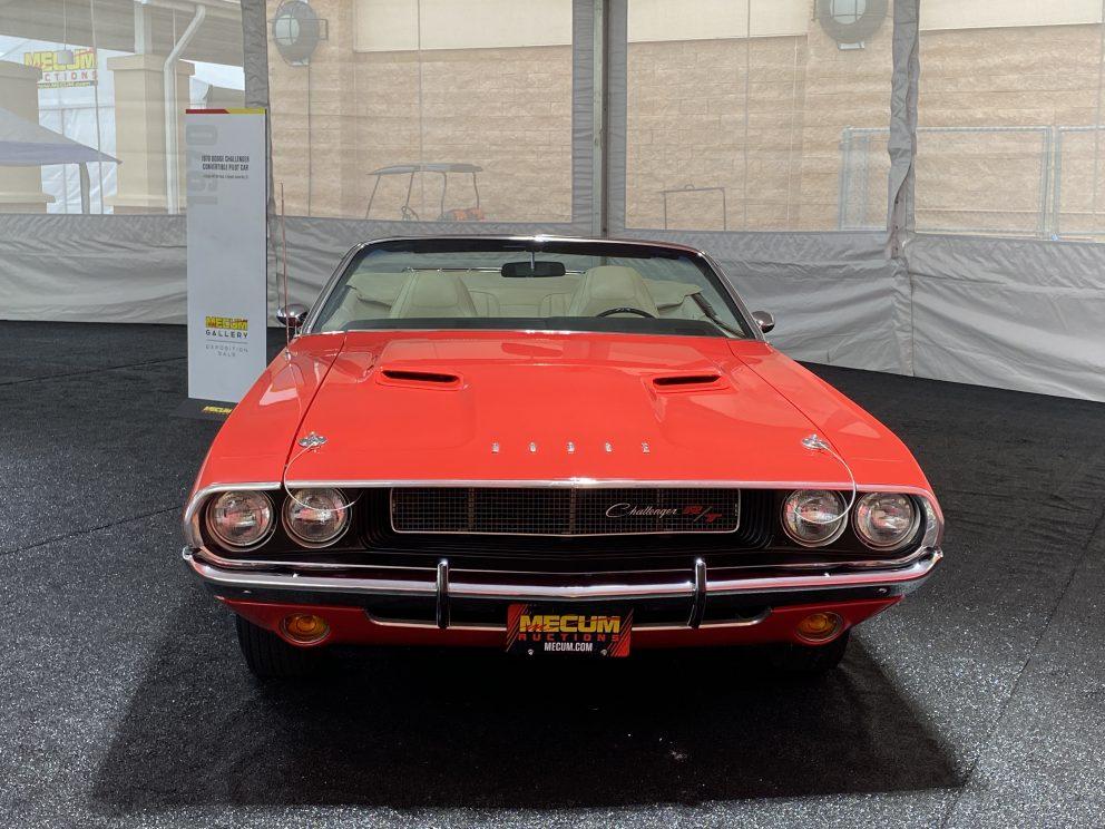 1970 Dodge Challenger Convertible Pilot Car