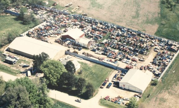 Aerial view of Mopar City