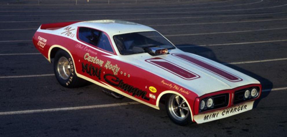 Classic funny car
