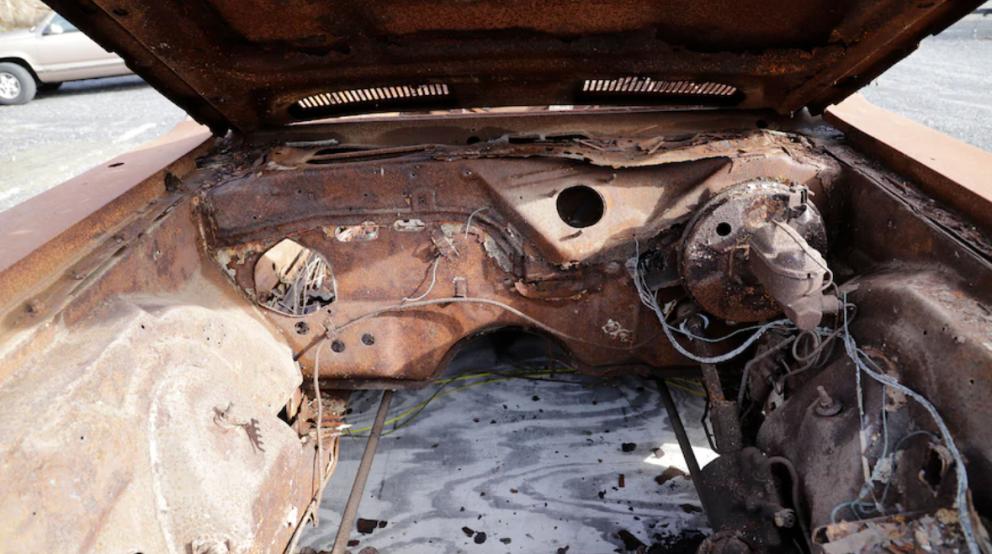 1974 Plymouth Barracuda interior