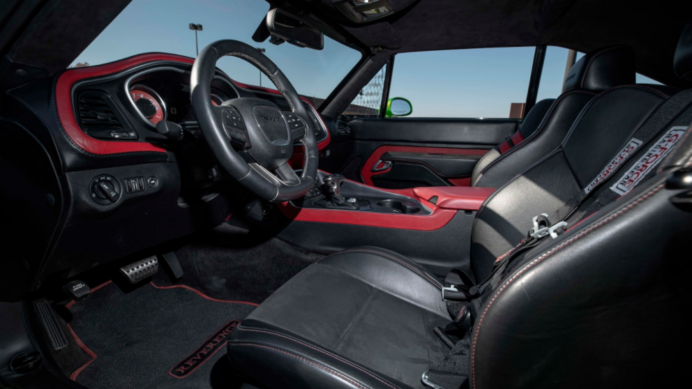 Dodge Charger restomod interior