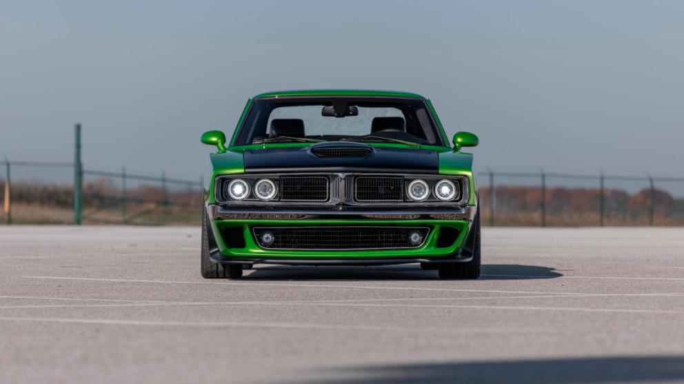 Dodge Charger restomod front end