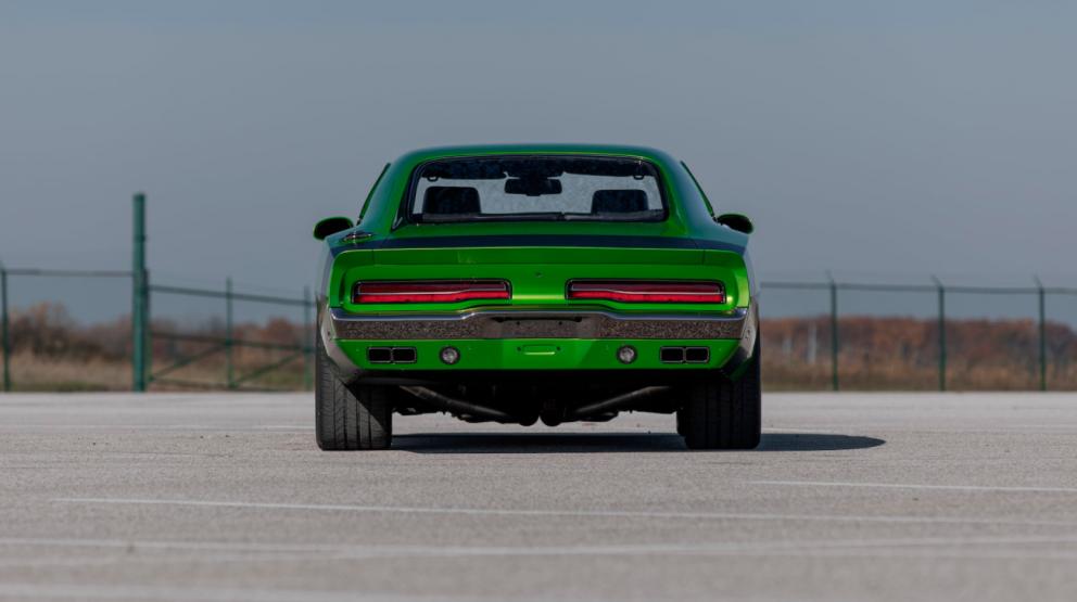 Dodge Charger restomod back end