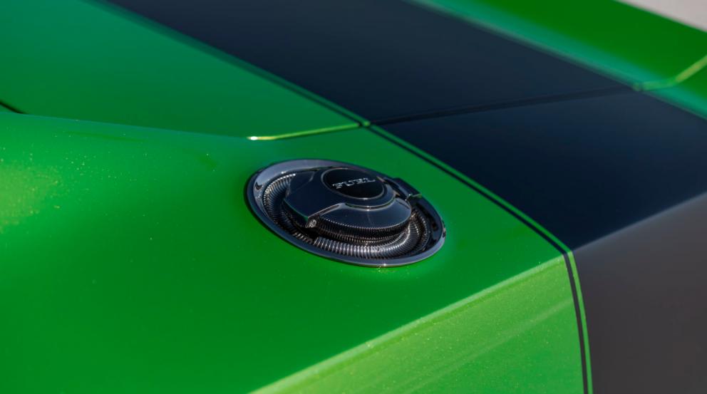 Dodge Charger restomod fuel tank