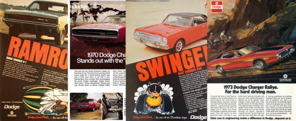 old Dodge and Mopar advertisements