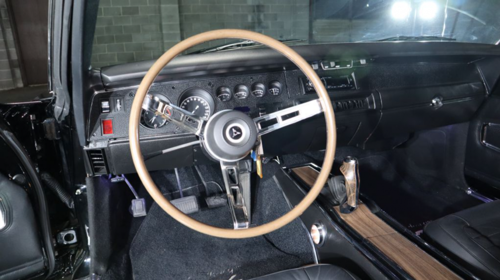 1970 Dodge Charger steering wheel