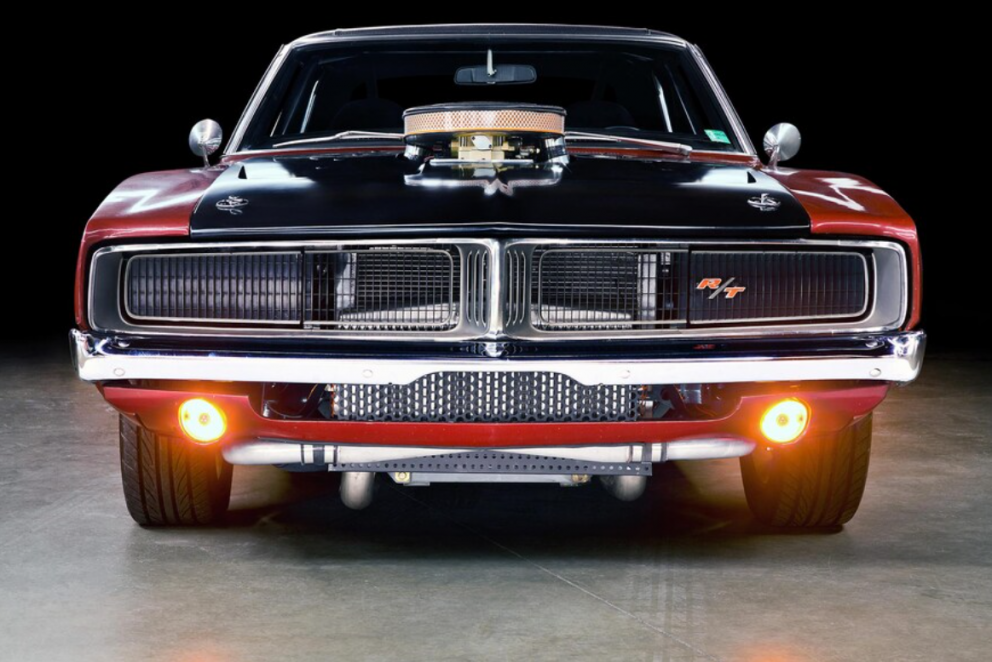 1969 Dodge Charger front end
