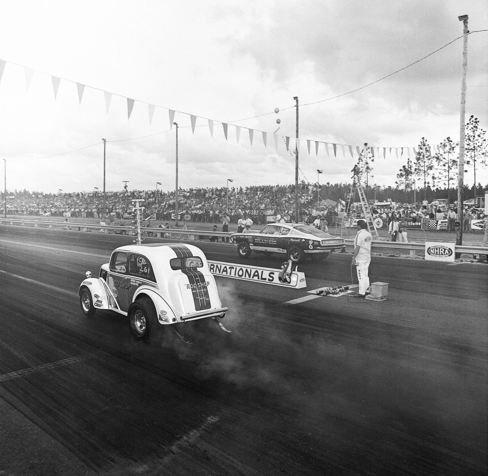Herb McCandless racing