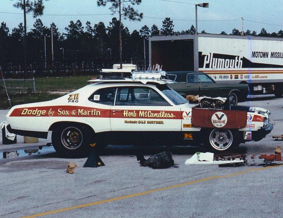 Herb McCandless' race car