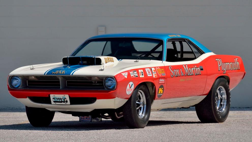 Herb McCandless race car