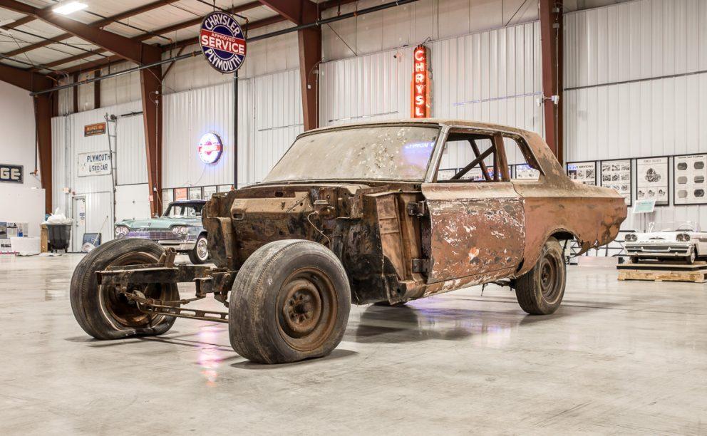 rusty race car
