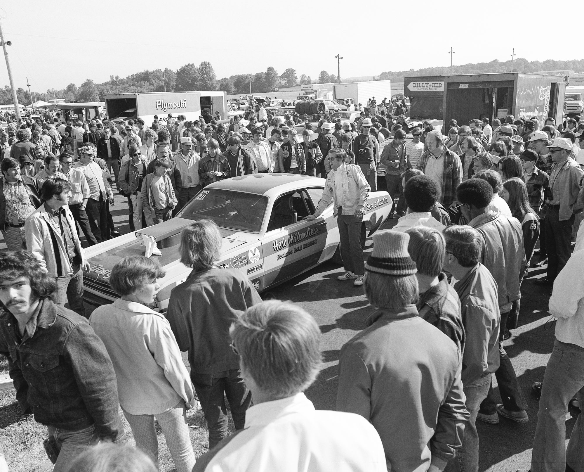 Herb McCandless speaking to a crowd