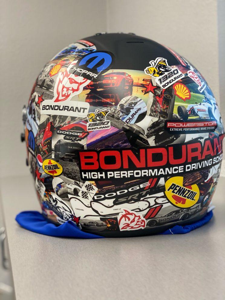 Bondurant helmet