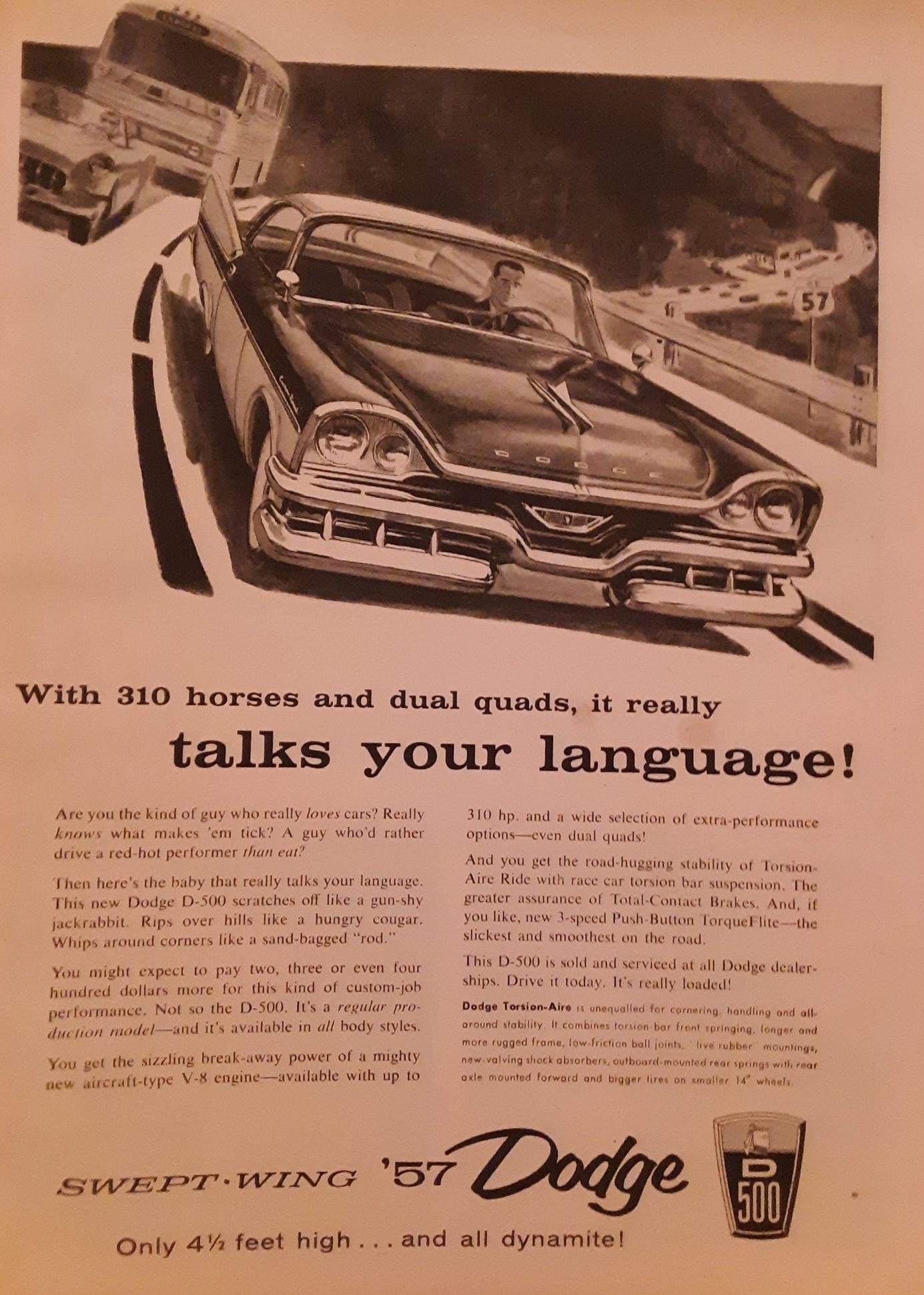 Vintage Dodge Advertisement