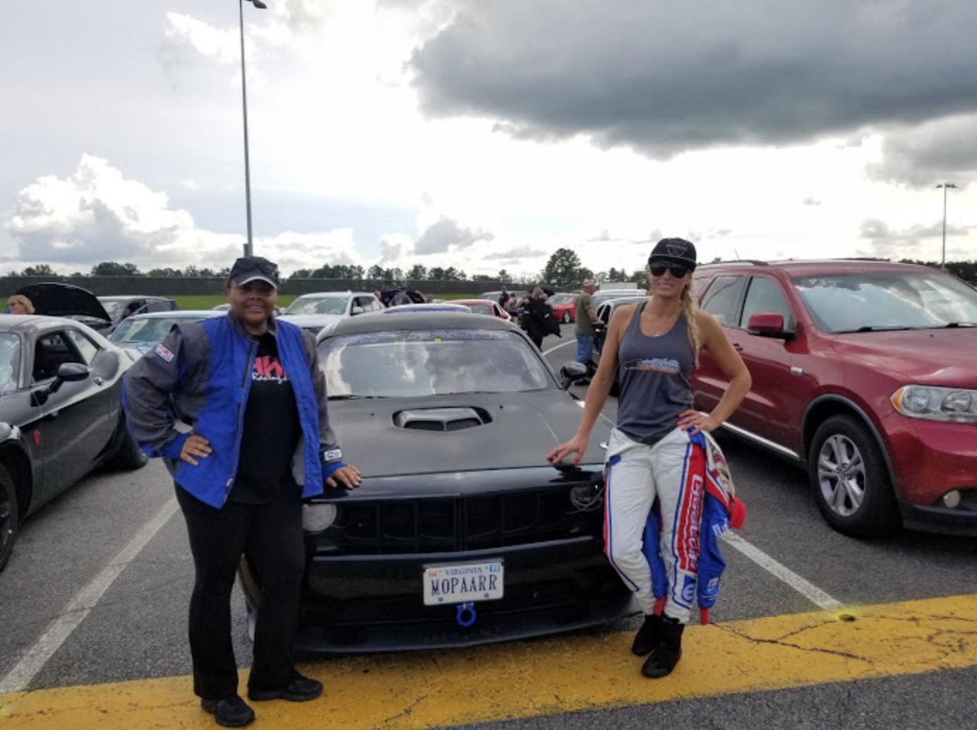 Neichaun Tatum posing with Leah Pruett
