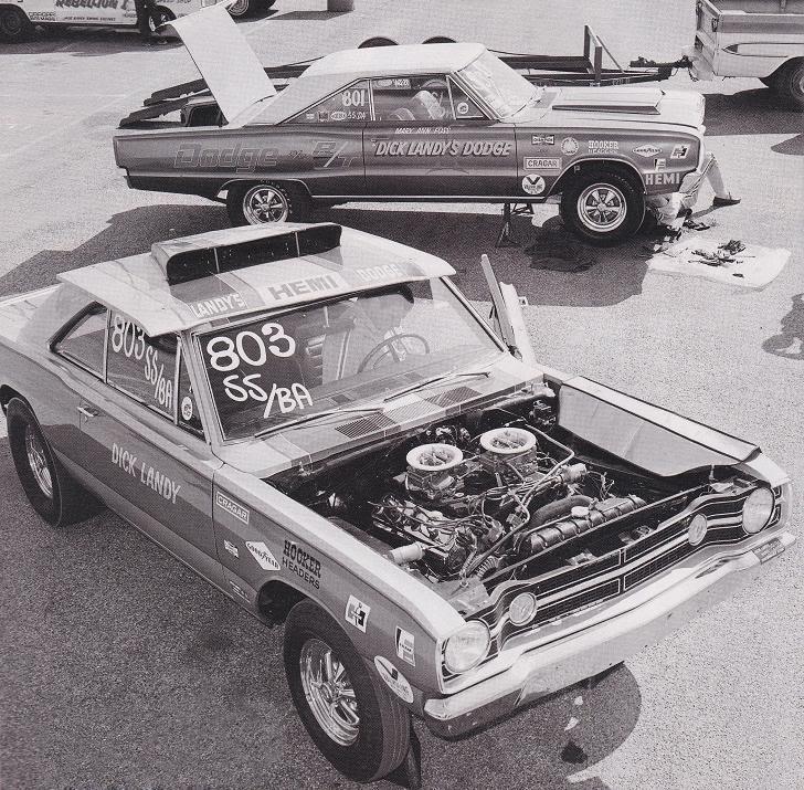 Mary Ann Foss Dick Landy race cars