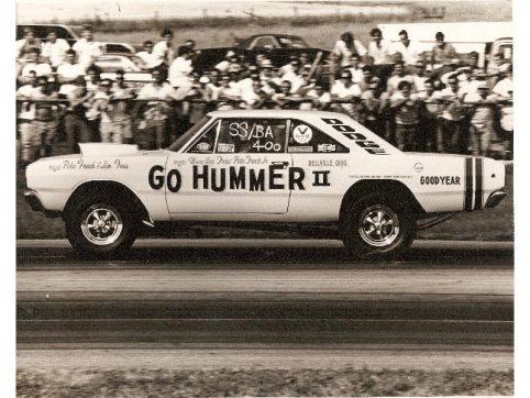 Mary Ann Foss drag racing