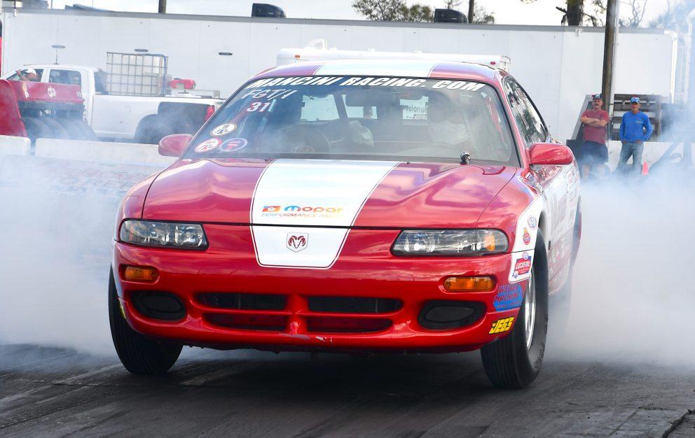 Racing at NMCA Muscle Car Mayhem 2021