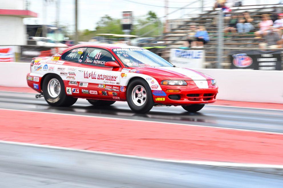 Avenger racing at NMCA Muscle Car Mayhem 2021