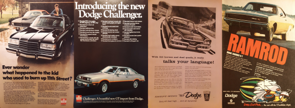 Old Dodge advertisements