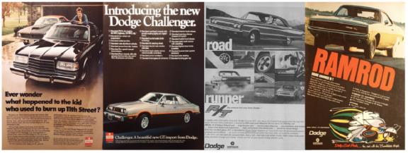 Vintage Dodge Advertisments