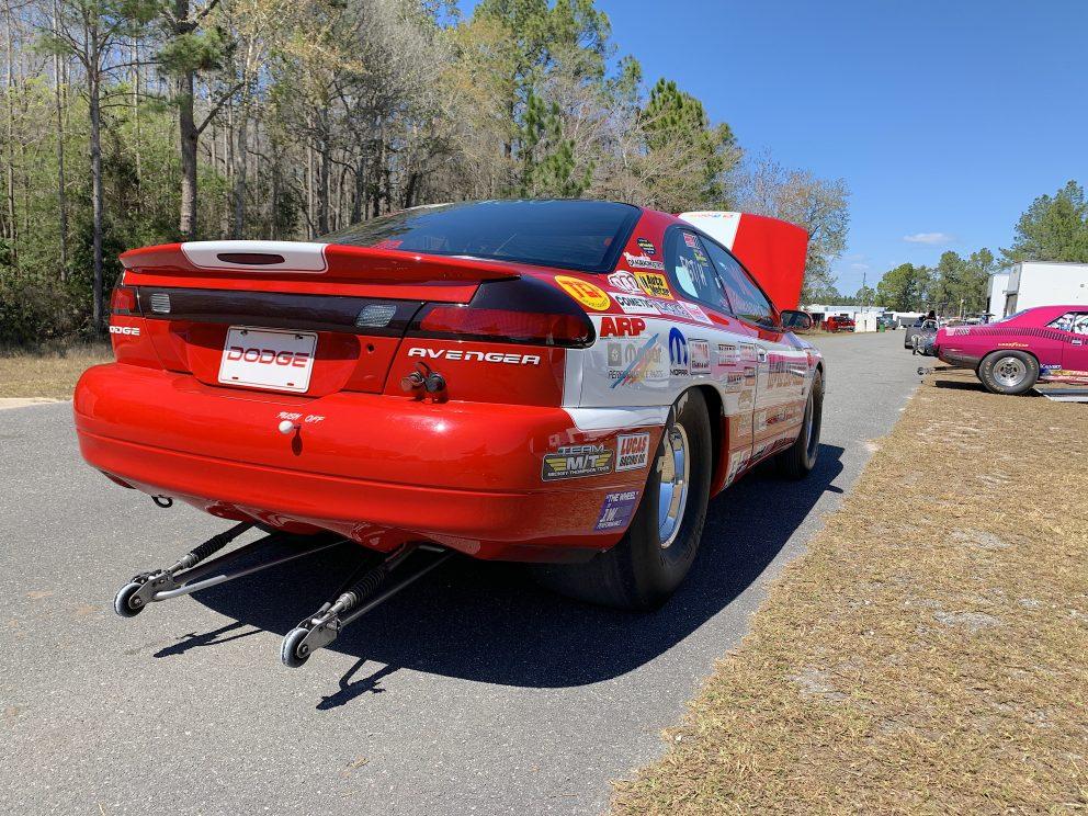 Mark Nowickis race car