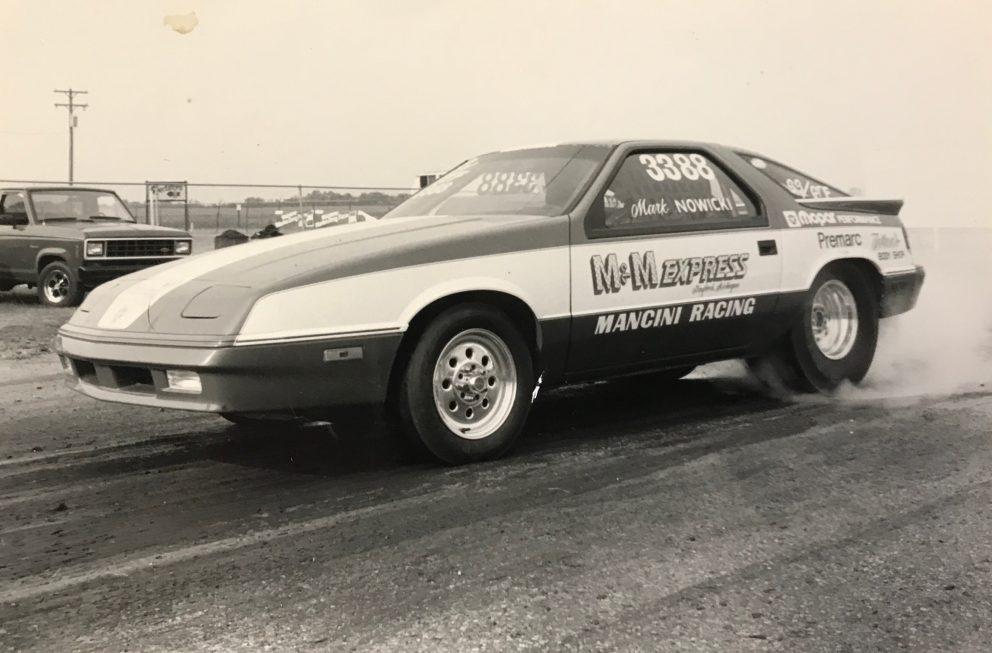 Mark Nowicki's race car