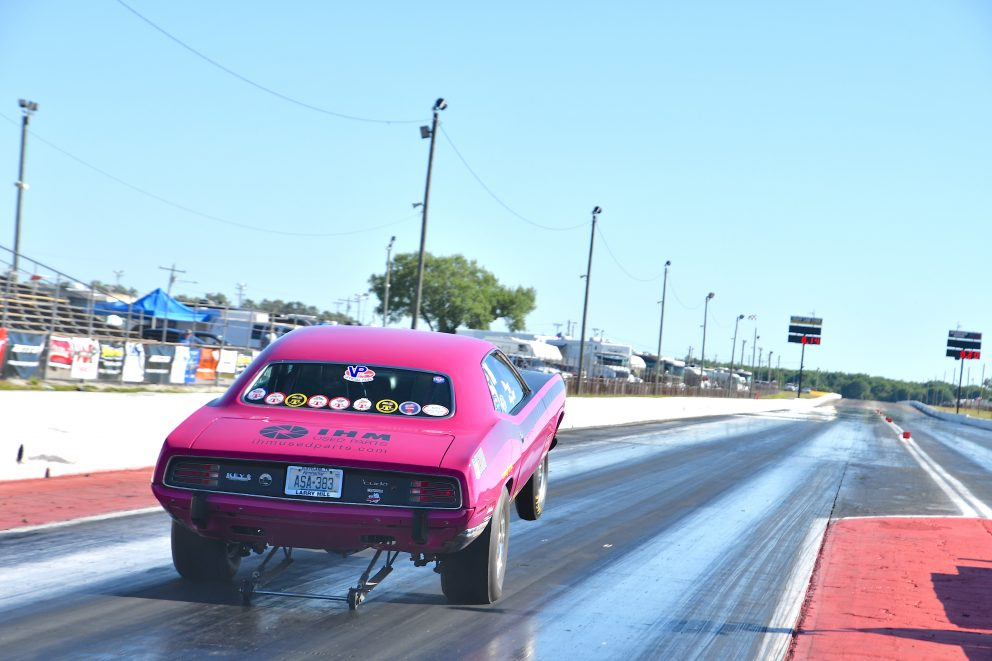 Larry Hill drag racing
