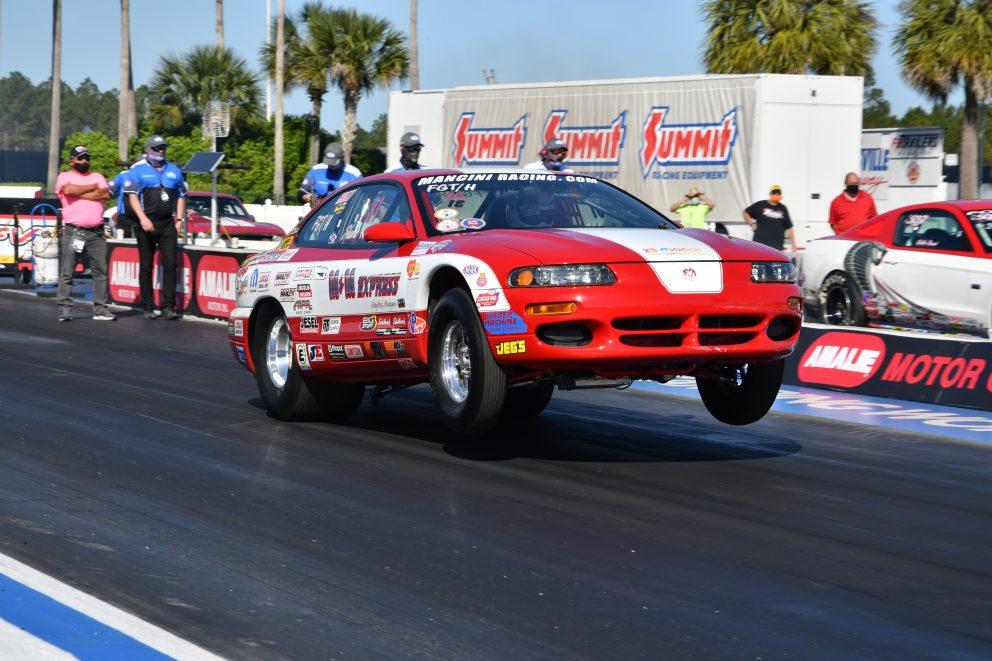 Mark Nowicki drag racing