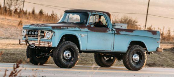 Hellcat-swapped 1968 Dodge Power Wagon restomod