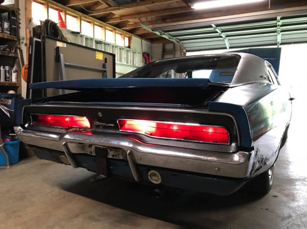1969 Dodge Charger back end