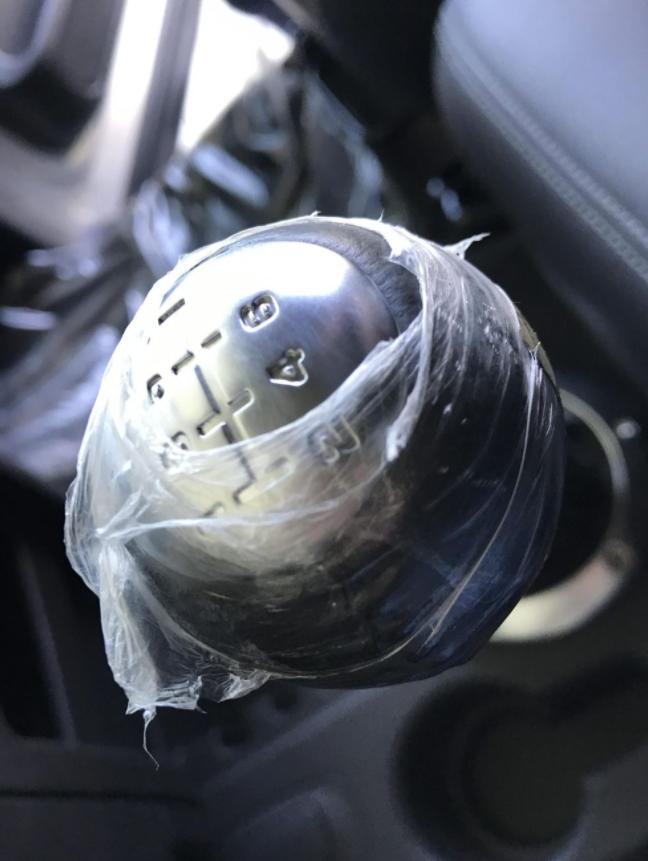 2004 Dodge Ram SRT-10 gear shifter still wrapped in plastic